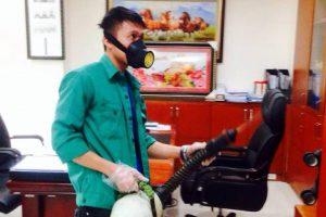 Dịch vụ phun thuốc diệt muỗi tại nhà Bình Đan